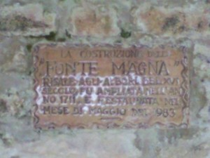 fonte magna 01 300x225 Fonte Magna, oude bron in Montottone