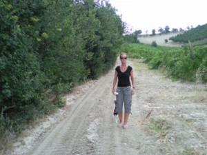 wandelen met midja 01 300x225 Hectische tijd