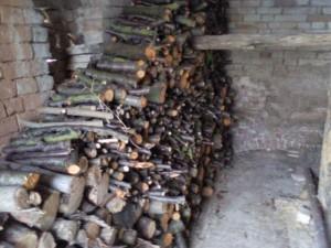 Houtstapel gemaakt van de opgezaagde bomen 300x225 Klaar maken voor de herfst/winter
