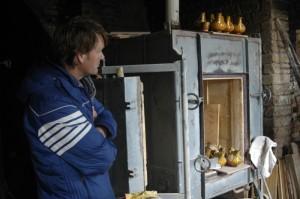 gasoven bij pottenbakkerij 300x199 Pottenbakkerij in Montottone