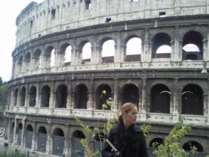 het colosseum 01 300x225 Rome, minder dan 3 uur rijden(1)