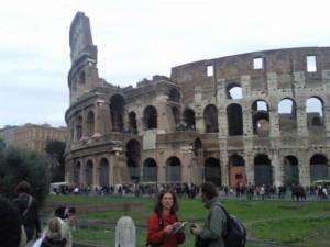 het colosseum 05 300x225 Rome, minder dan 3 uur rijden(1)