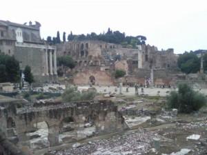 het forum romanum 03 300x225 Rome, minder dan 3 uur rijden(1)