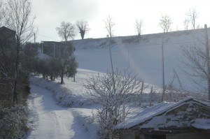 ons pad naar boven 01 300x199 Winter in Le Marche I